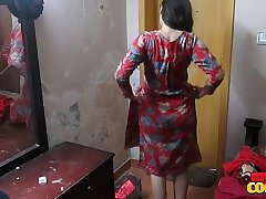 Indian Wife Sonia In Shalwar Suir Strips Naked Hardcore XXX
